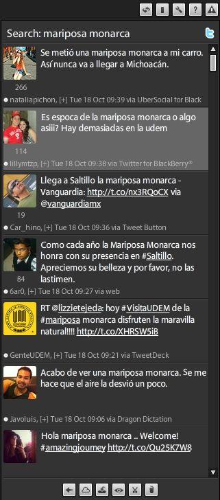 Twitter: Monarch butterflies arrive in Mexico