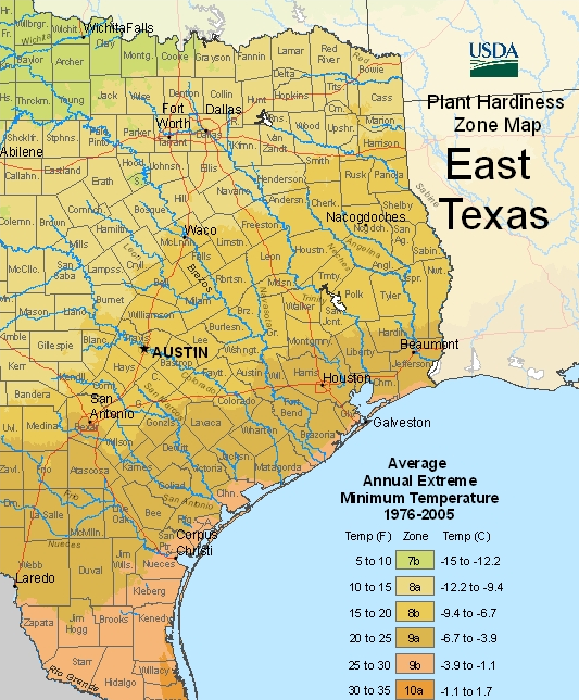 New USDA Plant Hardiness Zones Announced